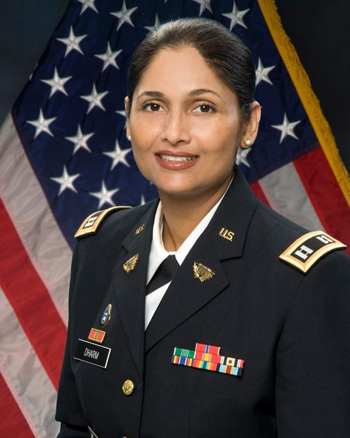 Pratima Dharm is the first Hindu chaplain in the US Army