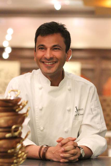 Vikas Khanna at Junoon