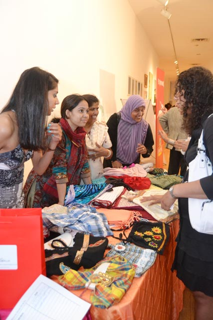 Wishwas - teaching skills to South Asian women and creating a market for their work