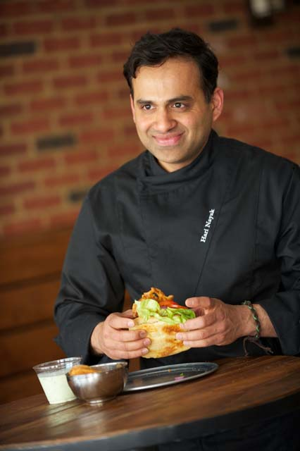 Hari Nayak, author of 'Modern Indian' and chef at Matt & Meera