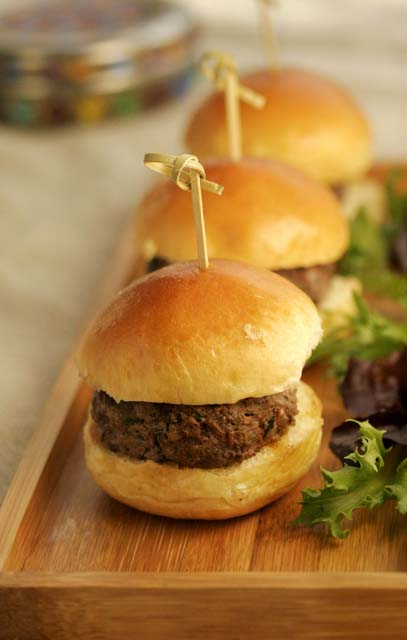 Matt & Meera Lamb Burgers by chef Hari Nayak