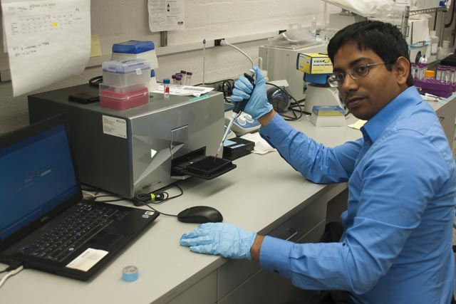 Raj Krishnan, Biological Dynamics, has done innovative work in cancer