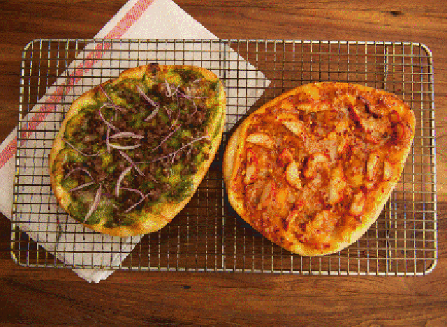Pizzas with an Indian touch at Matt & Meera