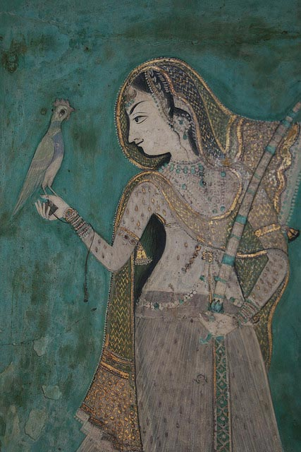 The Chatty Diva in her blog on Lassi with Lavina talks about the colorful people she has met, very like in tales from Bengali literature. Photo of a rani by Orange Tuesday