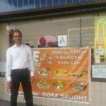 Rajesh Gopinath of Dosa Delight in Jackson Heights