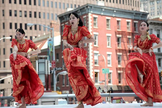 Mayuri Dance Group at the Erasing Borders Festival of Indian Dance