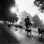 Homai Vyawalla, Indian (1913 – 2012) A Fox Hunt in Delhi led by Col.Sahni; Early 1940's Gelatin Silver Print