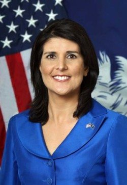 Gov. Nikki Haley official portrait. Photos by Renee Ittner-McManus/rimphotography.com