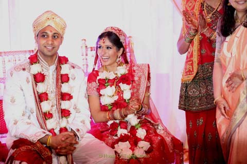 Sanjana Vaswani of SVBridal Concepts is a traveling cosmetologist who transforms the bride for South Asian weddings