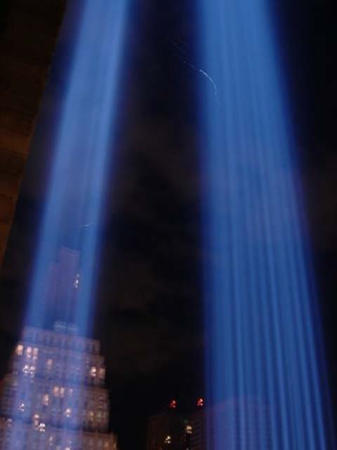 Remembering the twin towers adn the fallen