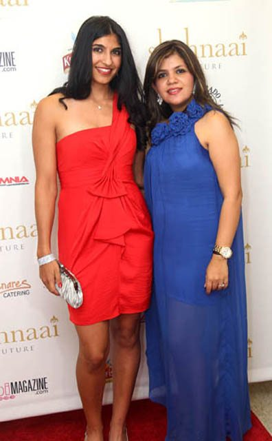 The Indian gown is a new trend from Indian fashion. Tennis pro Neha Uberoi and Shirin Vinayak