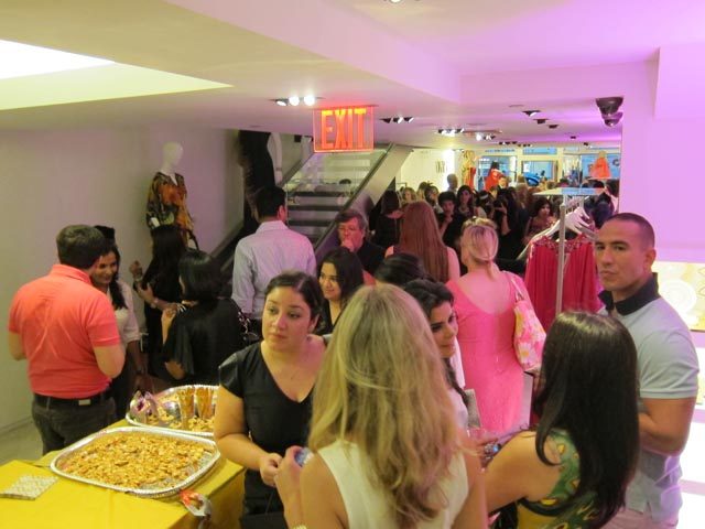 Fashion's Night Out party at Soigne K