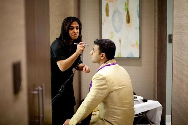 Gaurav gets the royal treatment on the big day
