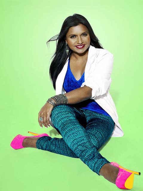 THE MINDY PROJECT -- Season: 1 -- Pictured: Mindy Kaling as Dr. Mindy Lahiri -- (Photo by: Mary Ellen Matthews/NBC)