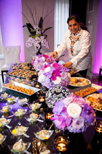 Chef Maneet Chauhan, who is also a judge on Food Network's 'Chopped', lays out a feast
