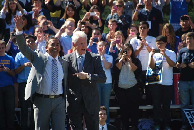 Ami Bera with President Bill Clinton