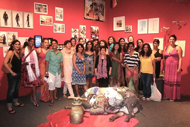 SAWCC artists at Her Stories, an exhibition commemorating 15 years of the SAWCC