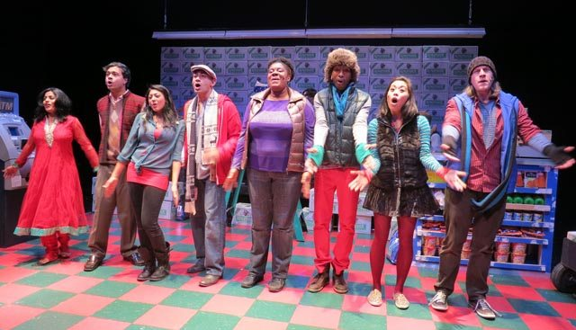The cast of 'Bumbug - the Musical' - a tale of Indian immigrants in America