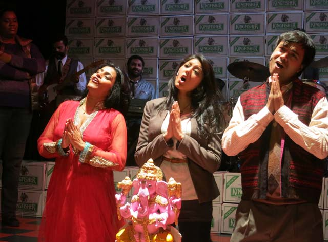 Falu, Lipica Shah and Dabargo Sanyal in 'Bumbug -The Musical'