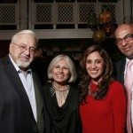 Indur and Aroon Shivdasani, Amrita Singh and Sam Bhatia at the Sufi Wine launch at Devi
