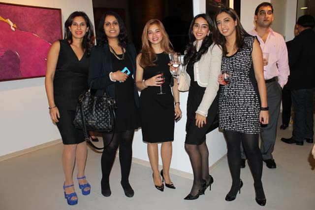 Guests at the CH Winter Wine & Wishes event