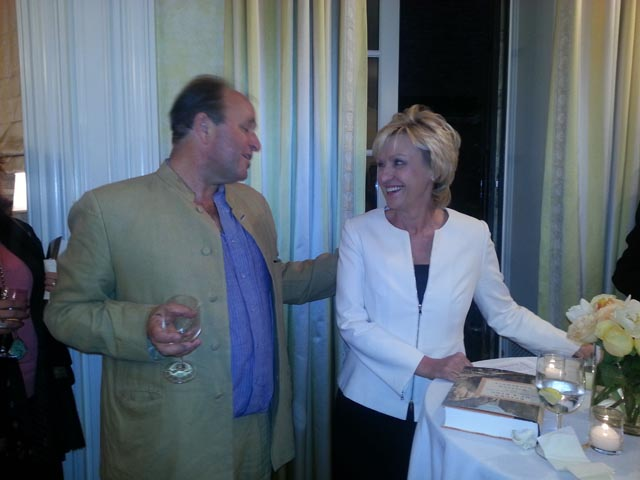 William Dalrymple & Tina Brown - Photo: Lavina Melwani. Book event for 'Return of a King'