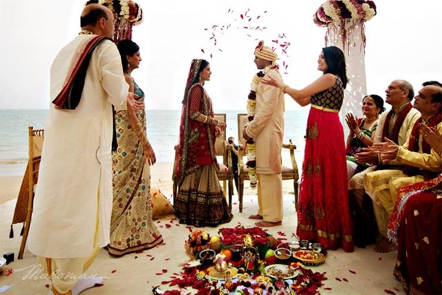 An Indian wedding in America