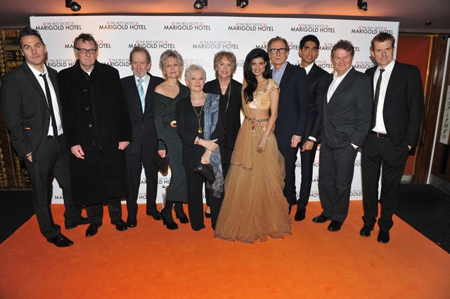 The star cast of the Best Exotic Marigold Hotel