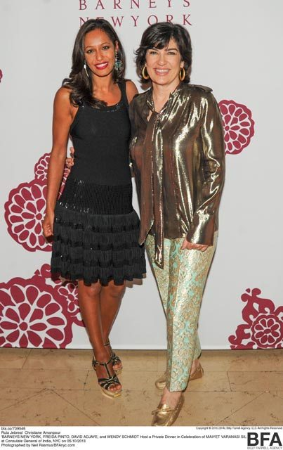 Rula Jebreal and Christiane Amanpour