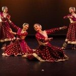 Dancers from Rachna Sarang Academy of Fine Arts