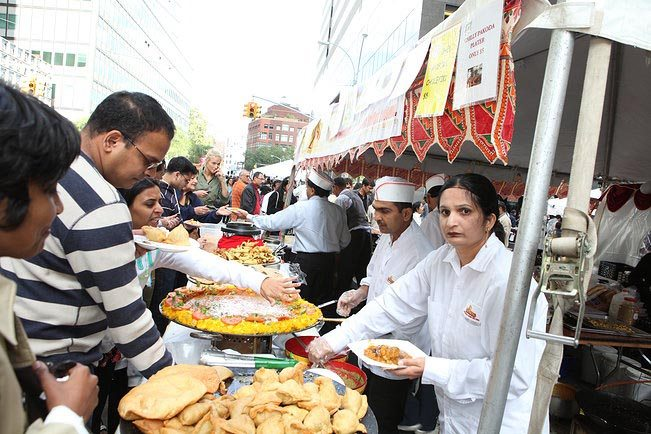 A food fest at AIA Deepavali Mela