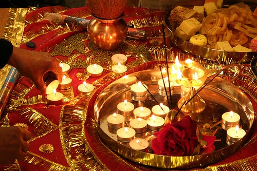 diwali diyas or lights