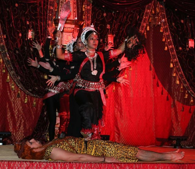 The spirit of the Goddess in Kali by Surati, choreographed by Rimli Roy. Photo: Snaps India