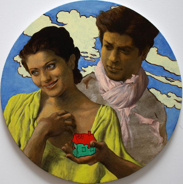 Decent Couple by Salman Toor - Bollywood influence on art
