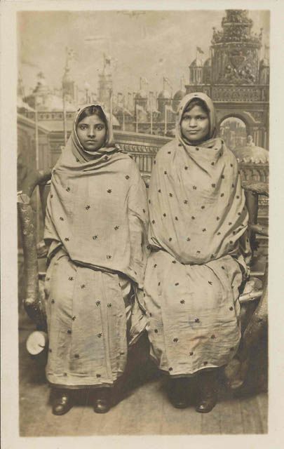 Two sisters - from the Indian-American project at the Smithsonian