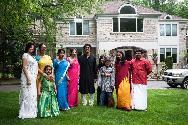 The Ashok Family - one of the images documenting Indian immigration in 'Beyond Bollywood' exhibit at the Smithsonian