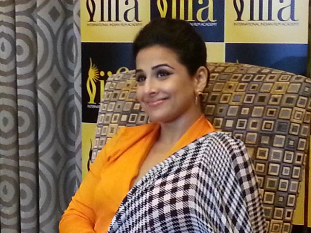 Vidya Balan talks about the upcoming IIFA in Tampa