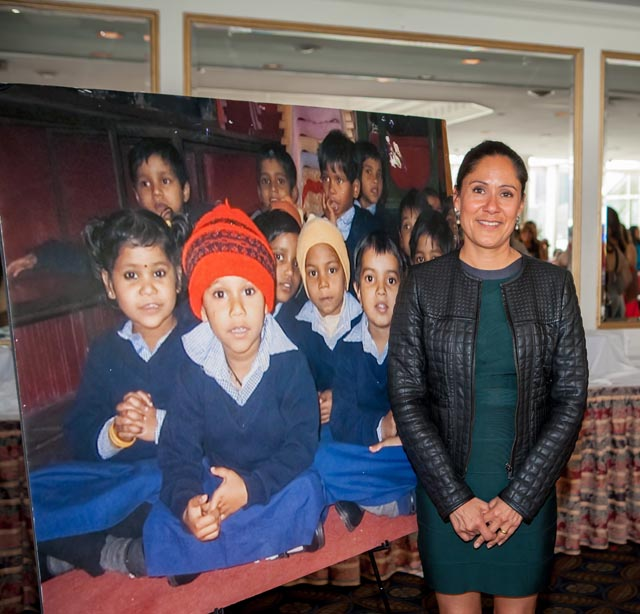 Sakina Jaffrey lends her support to Children's Hope India
