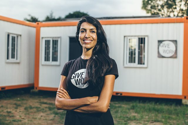 Leila Janah, founder of Samasource