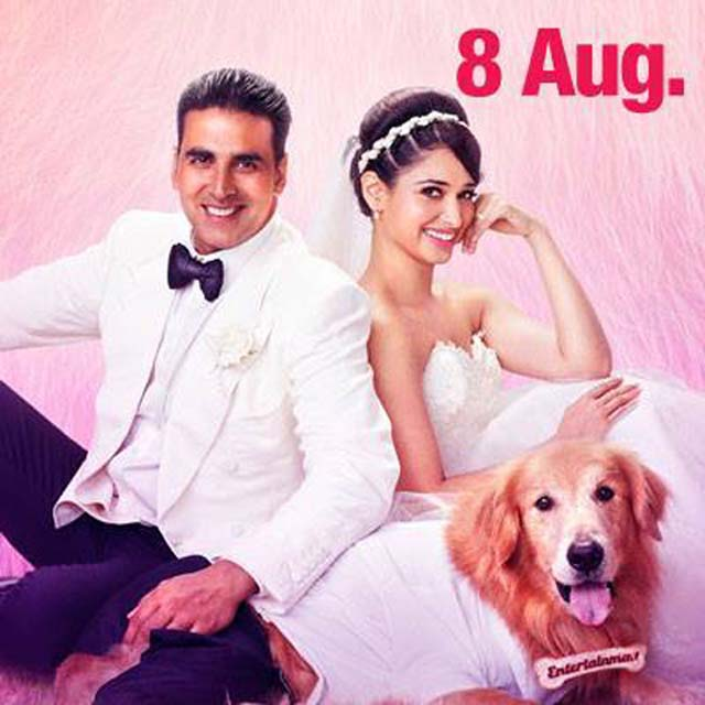 Akshay Kumar and Tamannaah in 'Entertainment'