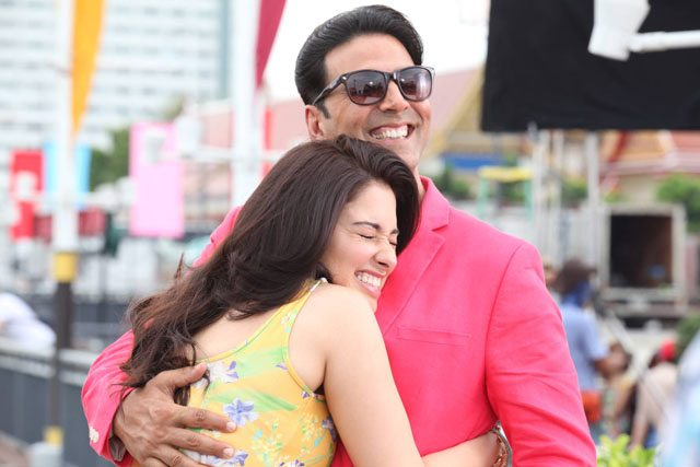 Akshay Kumar and Tamaanaah Bhatia in 'Entertainment'