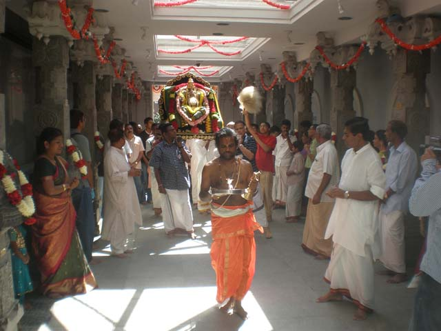 Ganesha Chathurthi celebrations at the Hindu Temple