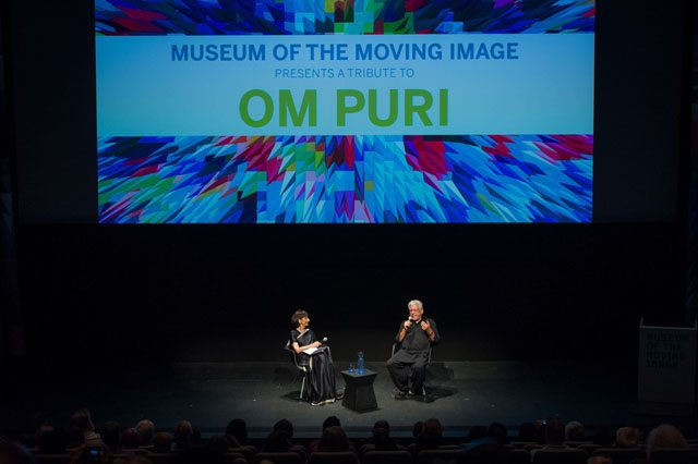Om Puri in conversation with Madhur Jaffrey
