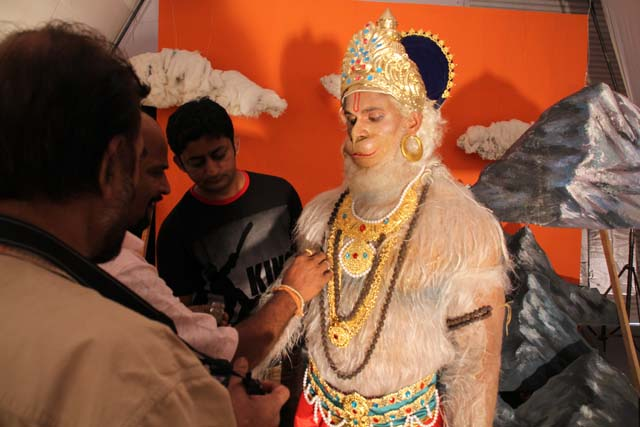 Recreating Hanuman