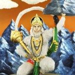 hanuman, the Hindu God of Strength