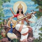 Ma Saraswati - the Hindu Goddess of Art and Learning