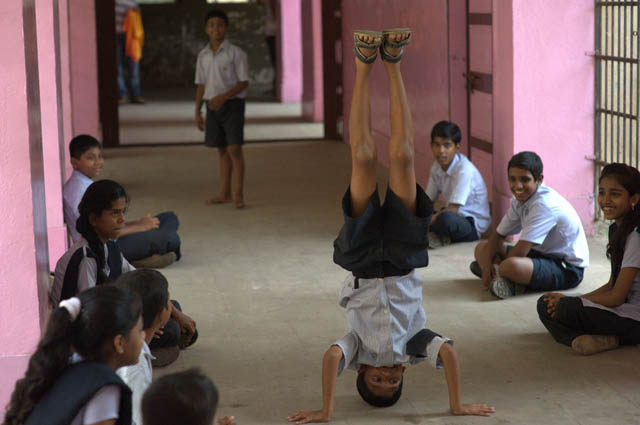 children supported by Salaam Bombay Foundation