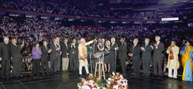 Looking Back The Modi Juggernaut Comes To America