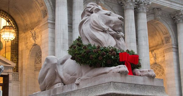 Christmas at The New York Public Library