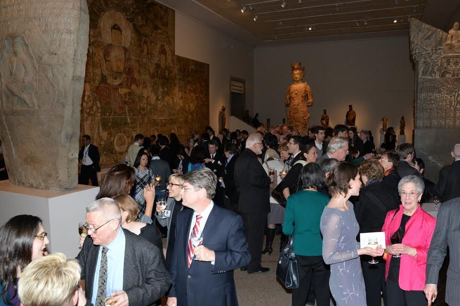 Reception at the Met